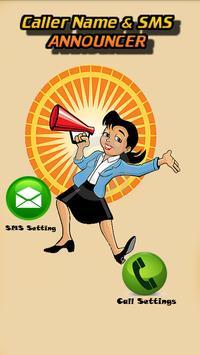 Caller Name & SMS Announcer screenshot 1