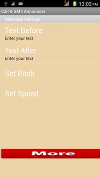 Caller Name & SMS Announcer screenshot 2