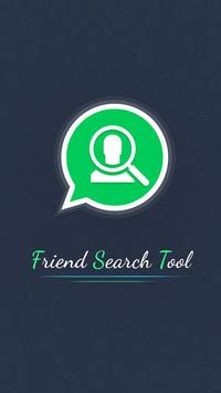 Friend Search Tools for Social Media poster