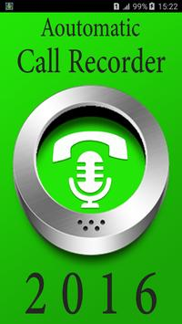 Call Recorder Automatic 2016 poster