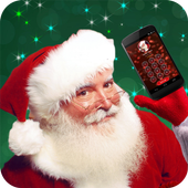 Call & Chat with Real Santa icon