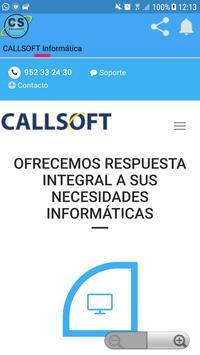 CALLSOFT Informática poster