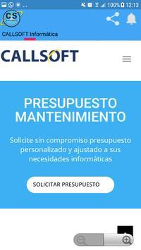 CALLSOFT Informática apk screenshot