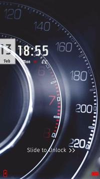 Speedometer Locker Theme apk screenshot