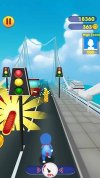 Doraemon Rush : Subway Doramon Run screenshot 2