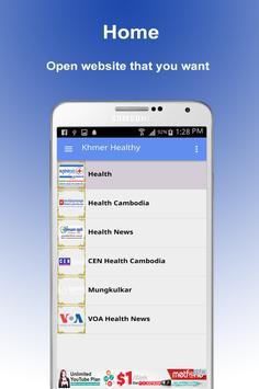 Khmer Health - Khmer Healthy - Cambodia Health poster