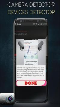 Hidden Devices Detector & Microphone data poster