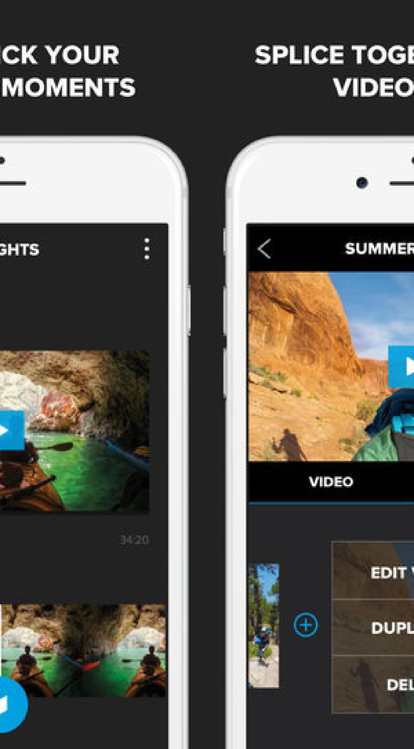Splice Movie Maker by GoPro /Splice Android Advice pour Android