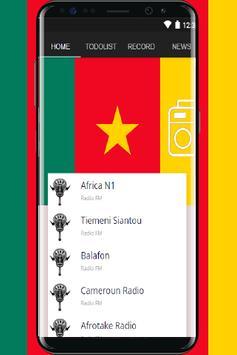 All Cameroon Radios stations online FM screenshot 1