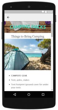 Camping Hacks screenshot 6