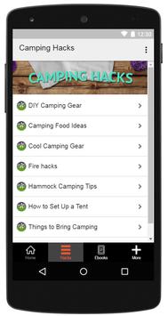 Camping Hacks screenshot 1