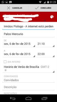 Campus Agenda #CPBR8 apk screenshot