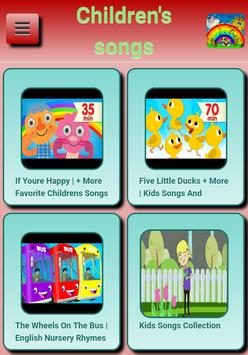 Children's Songs apk screenshot