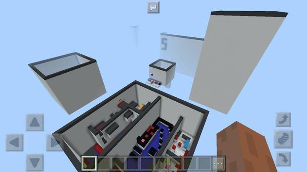 Concrete Parkour.  Map for Minecraft screenshot 3