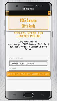 Free Amazon Gift Card Prank screenshot 3