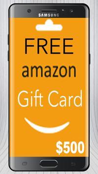 Free Amazon Gift Card Prank poster