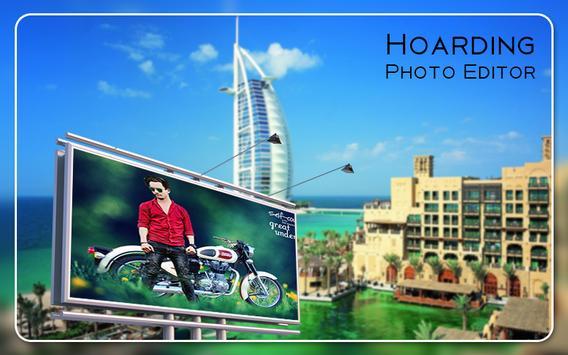 Hoarding Photo Editor poster