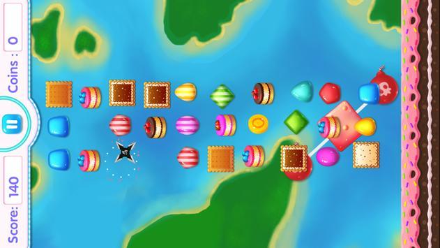 Candy Shuriken Ninja apk screenshot