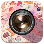 Candy Selfie Sweet Camera icon