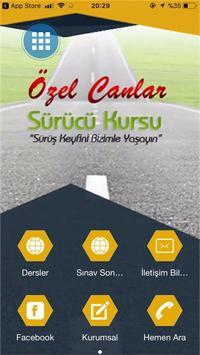 Canlar Sürücü Kursu poster
