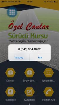 Canlar Sürücü Kursu apk screenshot