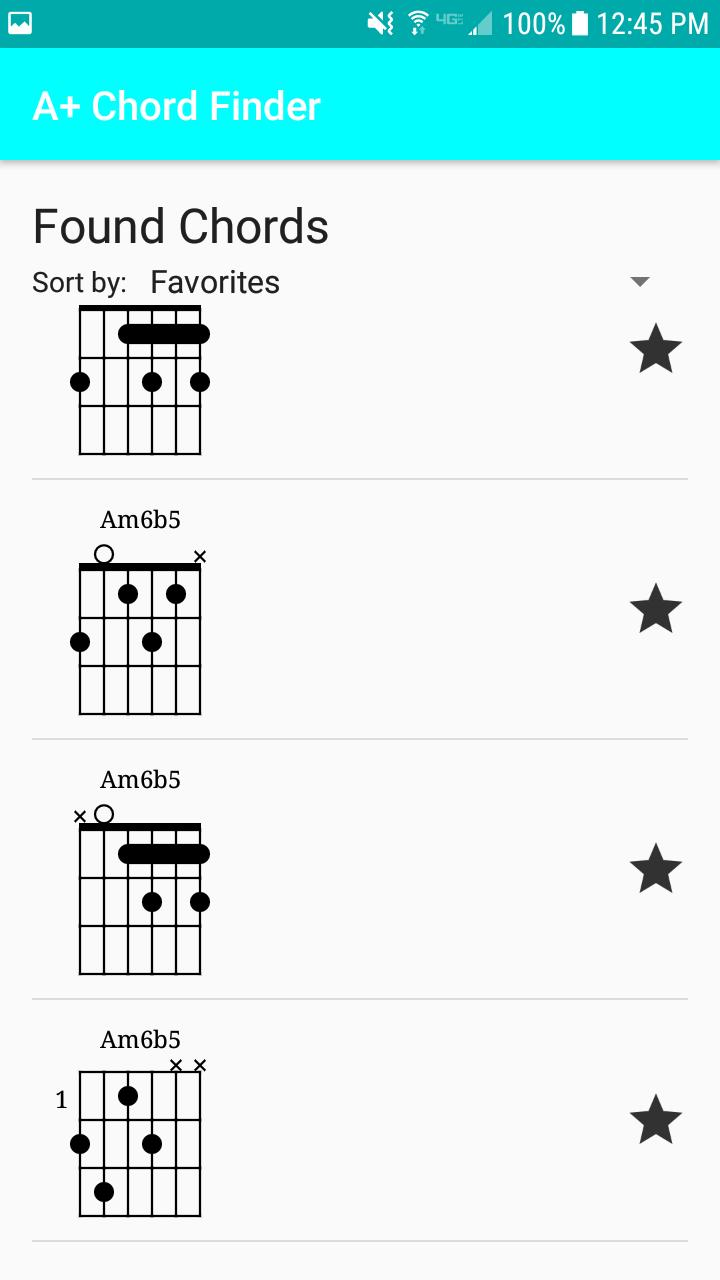A+ Chord Finder for Android   APK Download