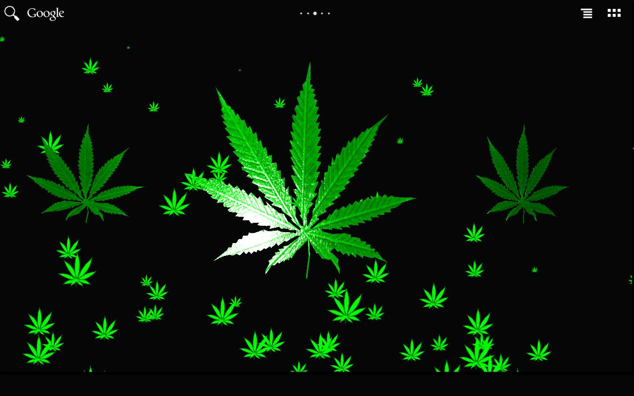 Cannabis HD Live Wallpaper for Android ...