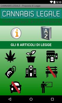 CANNABIS LEGALE poster