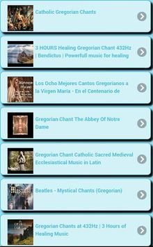 Gregorian chants screenshot 7