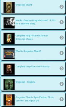 Gregorian chants screenshot 4