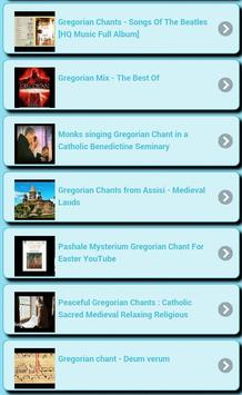 Gregorian chants screenshot 6