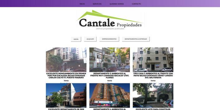 Cantale Propiedades screenshot 1