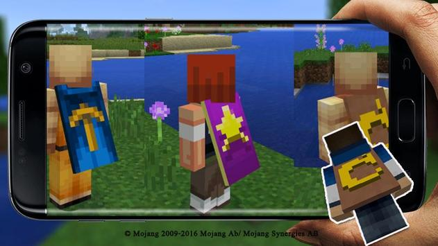 Capes Addon for Minecraft PE poster