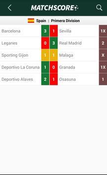 MatchScore apk screenshot