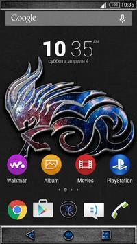 Zodiac Theme - Capricornus apk screenshot