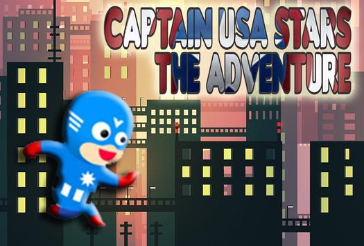 Captain USA Stars The Adventure apk screenshot