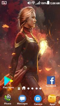 Captain Marvel Wallpapers Hd 4k For Android Apk Download