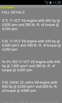 Quick Guide 2013 Ford Mustang screenshot 4