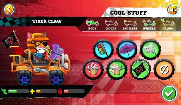 cartoon car racing games kids apk screenshot