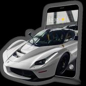 Luxury Racing Car icon