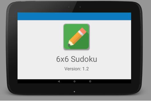 6x6 Sudoku screenshot 4