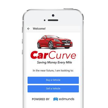 CarCurve™ - Used Car & Truck Quote Analyzer App. poster