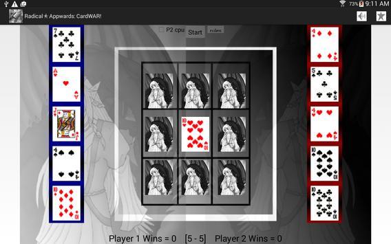 War Card Game: CardWAR! screenshot 2