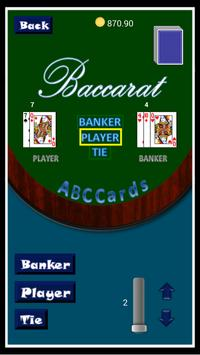 ABCcards- Blackjack & Baccarat apk screenshot
