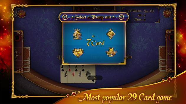 29 Card Game apk screenshot