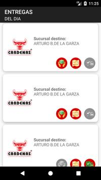 Cardenas Alimentos - Entregas screenshot 1
