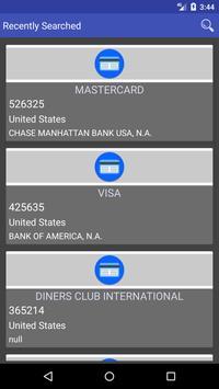 Cards Manager apk screenshot