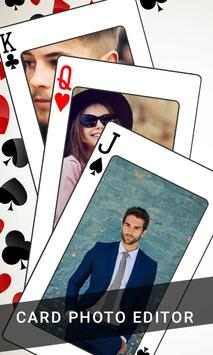 Playing Card Photo Editor poster