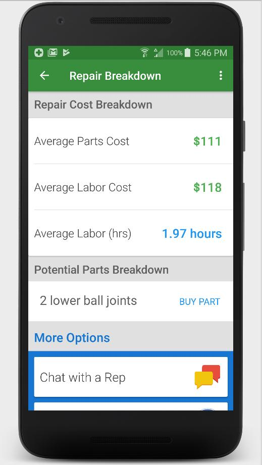Auto Repair Estimates >> Auto Repair Estimates For Gmc Repairs For Android Apk Download