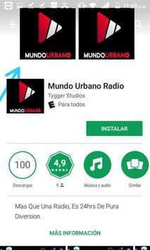 Mundo Urbano Radio poster